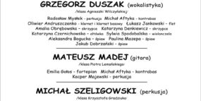 Afisz - 19.09.2017, recitale dyplomowe Wydziału Jazzu