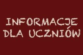Terminy sprawdzianów końcowych dla dyplomantów - rok szkolny 2017/18