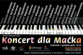 Maciej Ulatowski - koncert charytatywny