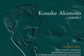 Kosuke Akimoto - recital