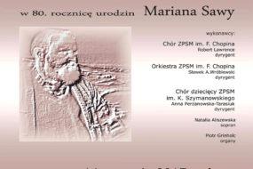 Marian Sawa - koncert