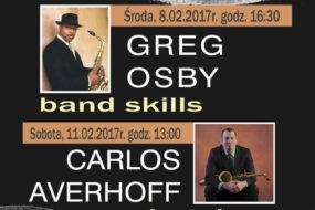 Greg Osby, Carlos Averhoff - warsztaty jazzowe