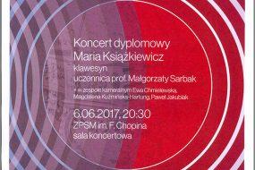 Dyplomy 2017 - sekcja fortepianu, klawesynu i organów