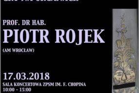 Piotr Rojek - warsztaty i koncert