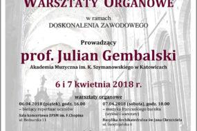 Julian Gembalski - warsztaty
