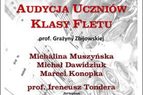Audycja uczniów prof. Grażyny Zbijowskiej