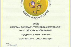 Festiwal chóralny w Siedlcach