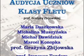 Audycja klasy prof. Grażyny Zbijowskiej