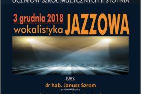 Wokalistyka Jazzowa 2018 - przesłuchania CEA