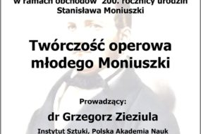 Grzegorz Zieziula - wykład