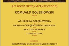 Romuald Gołębiowski - 40-lecie pracy artystycznej