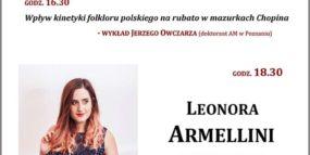 Afisz - wykład i koncert 17.10.2019