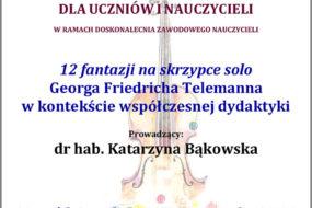 Katarzyna Bąkowska - wykład