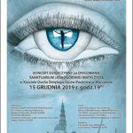 Afisz koncertu 15.12.2019, godz 19, ul. Długa 3, Warszawa