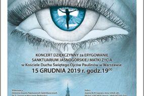 Koncert w kościele Ojców Paulinów p.w. Ducha Świętego w Warszawie