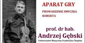 Afisz - warsztaty skrzypcowe