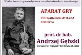 Andrzej Gębski - warsztaty