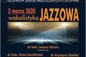 Wokalistyka Jazzowa 2020 - przesłuchania CEA