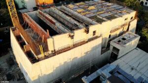 Budowa sali koncertowej - zdjęcie z dnia 20.06.2020
