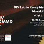 Afisz - Kursy Muzyki Dawnej